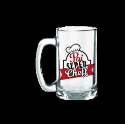 Caneco de Chopp 340ml - Pai Super Cheff