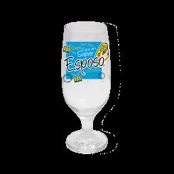 Taça de Cerveja - Super Esposo
